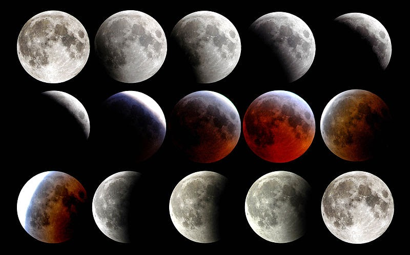 how to describe a full moon